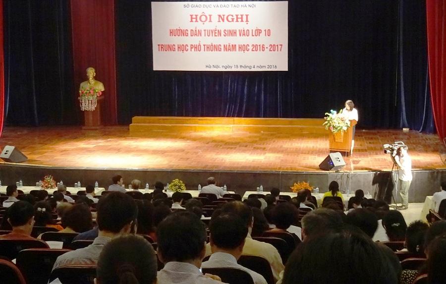 Ngành GD&ĐT Hà Nội hướng dẫn tuyển sinh vào lớp 10 THPT năm học 2016 – 2017 - http://c3thachban.edu.vn